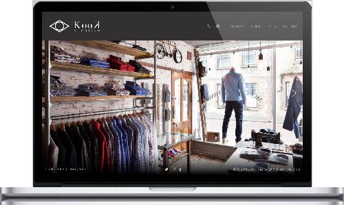 Kook Creative home page
