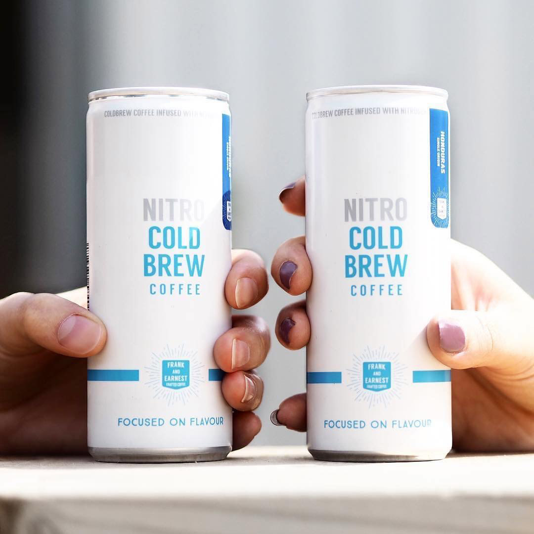 Frank and Earnest Cold Brew Cans