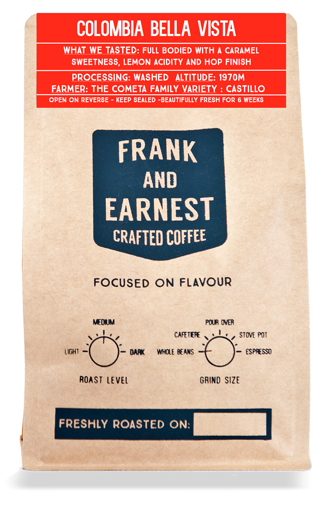 Frank and Earnest Crafted Coffee Bag