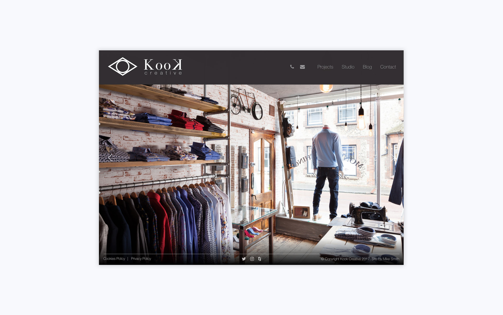 Kook Creative Home Page