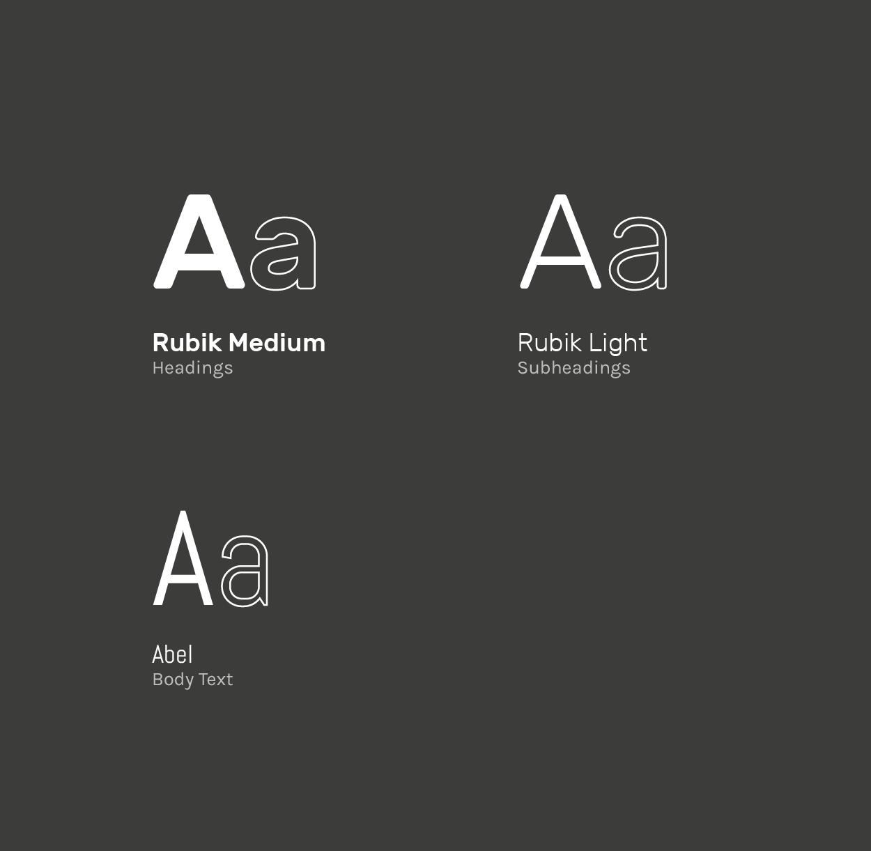 Vinyl Hunter Typography