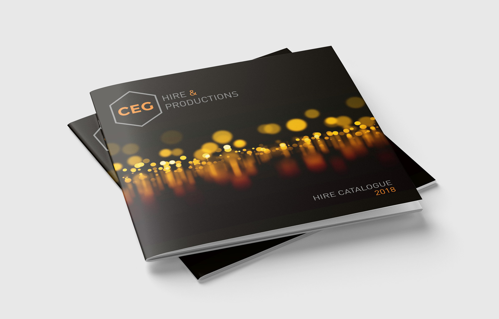 CEG Hire & Productions Catalogue Cover