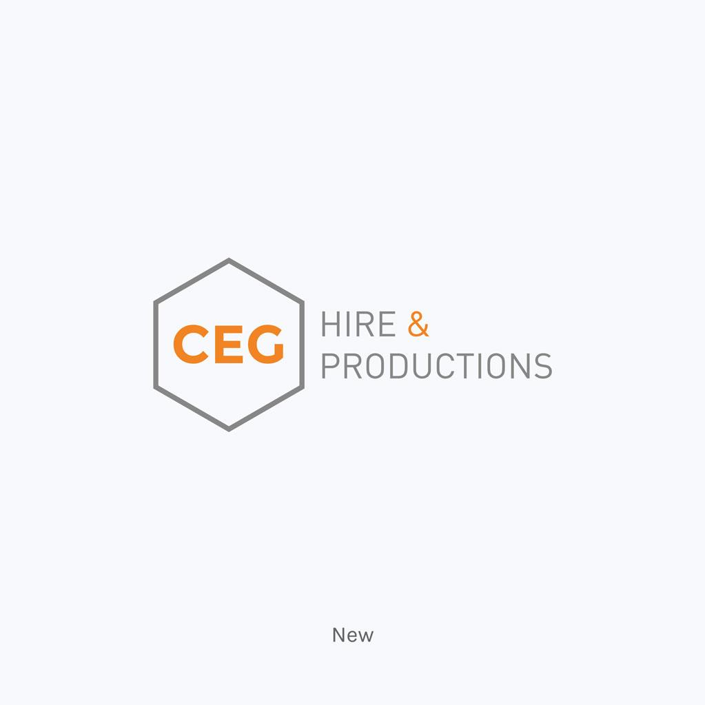 CEG Hire & Productions New Logo