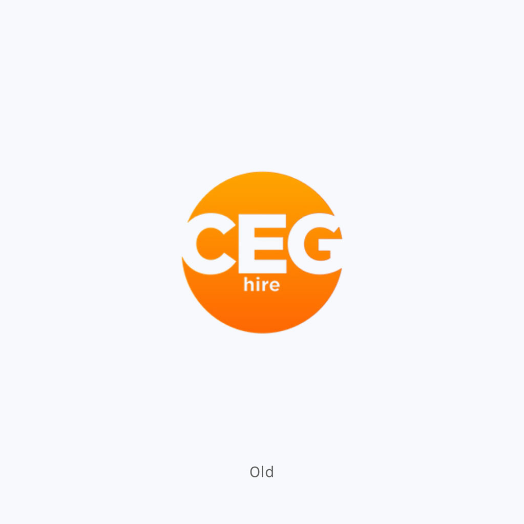 CEG Hire & Productions Old Logo