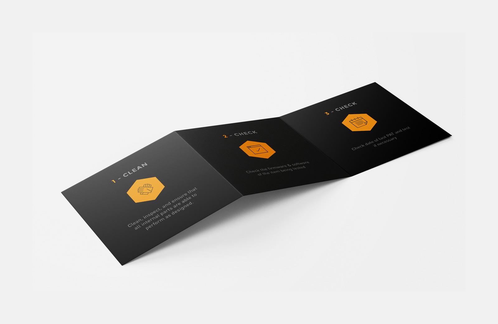 CEG Hire & Productions Flyer Internal Fold