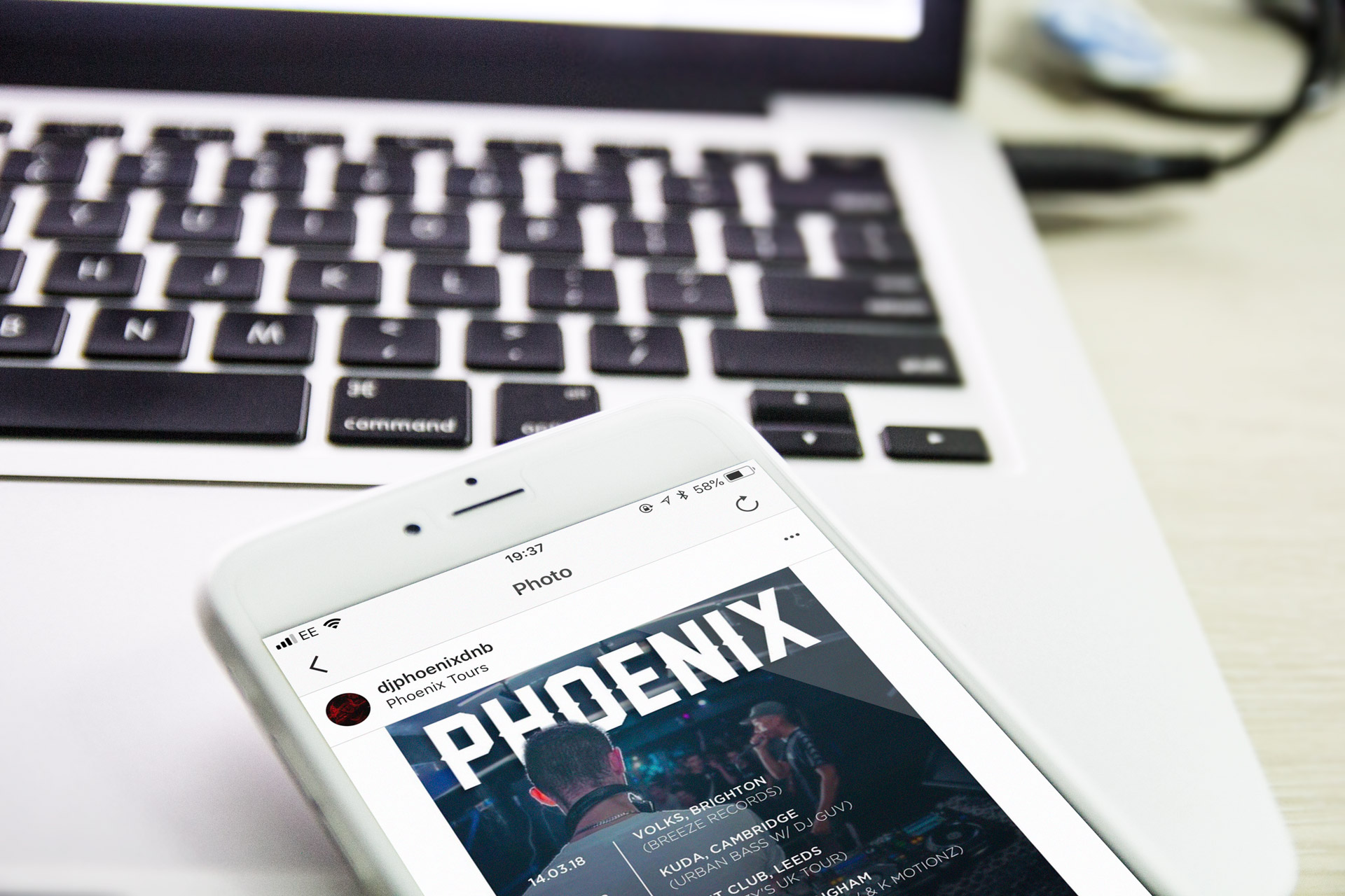 Phoenix Instagram Ad