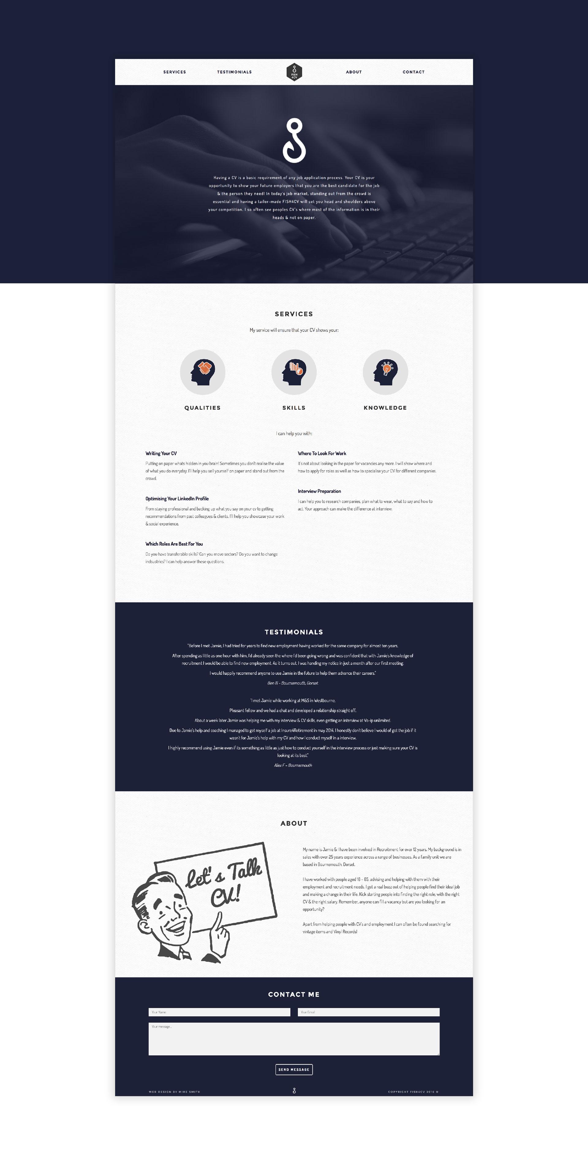 Fish 4 CV website