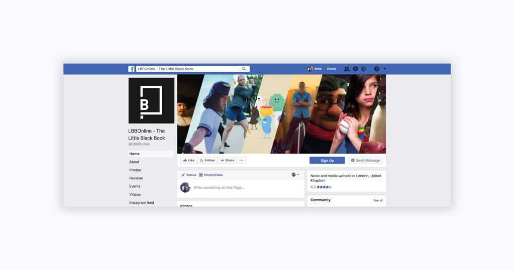 Little Black Book Facebook Header