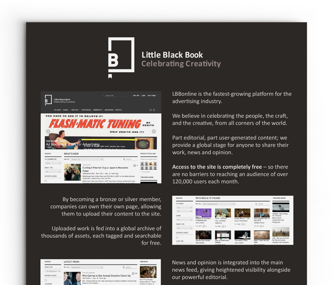 Little Black Book Flyer