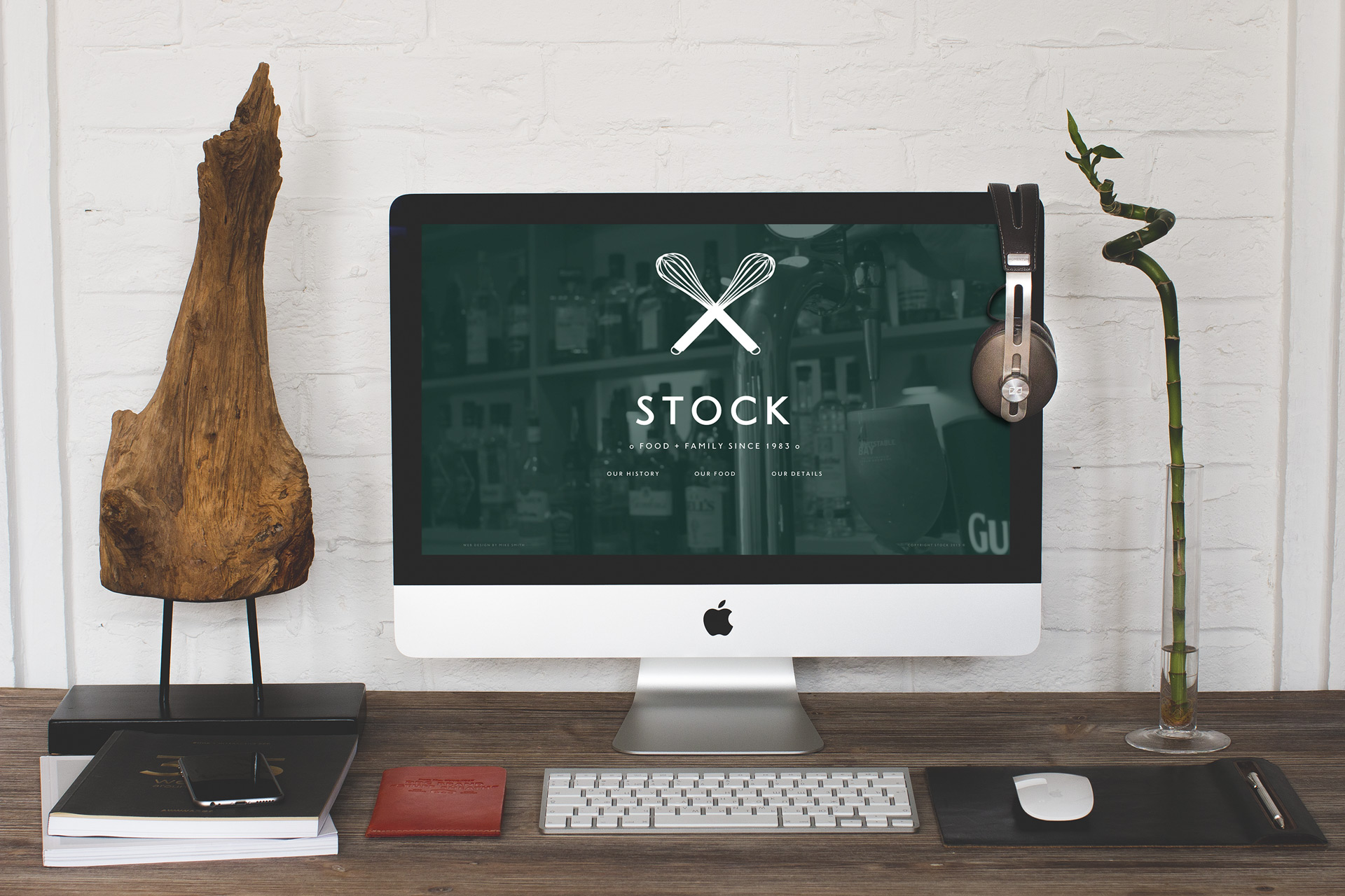 Stock Dining Room & Bar iMac