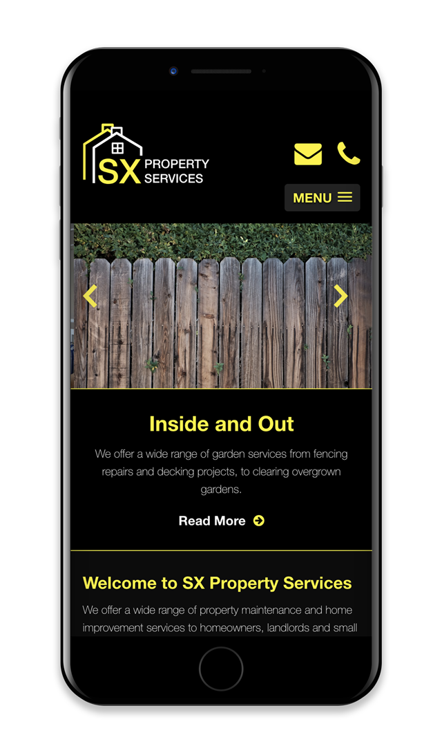 SX Property Services iPhone