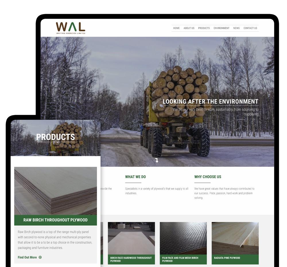 Whiting Agencies Web Screens