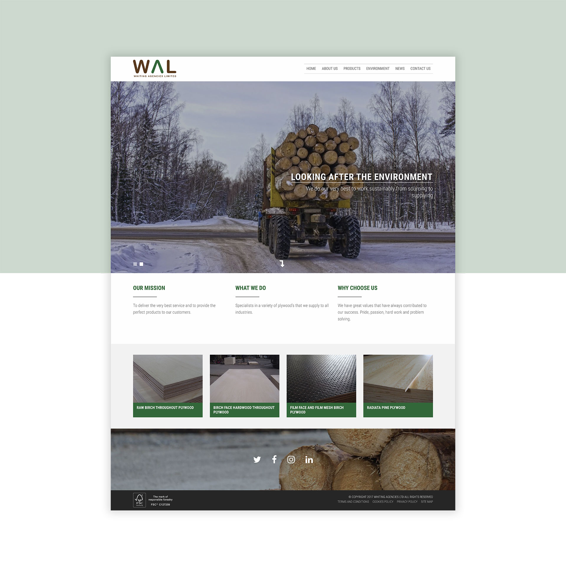 Whiting Agencies Home Page
