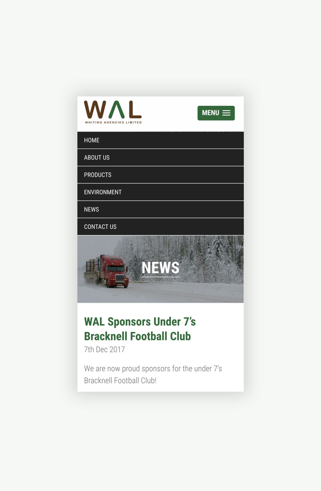 Whiting Agencies Limited News Page