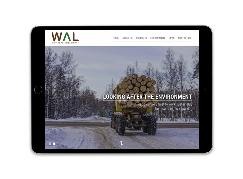 Whiting Agencies Limited iPad