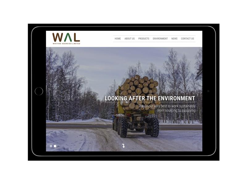 Whiting Agencies Limited iPad